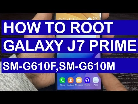 How to Root Galaxy J7 Prime SM-G610F,SM-G610M,G610Y Models | Step by