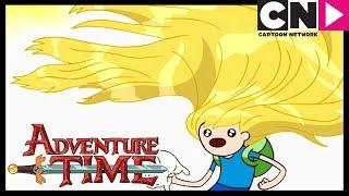Adventure Time | Finns Beautiful Hair Saves The Day! | Cartoon Network