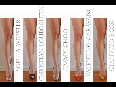 Designer Shoe Collection review – Jimmy Choo, Louboutin, Valentino, Gianvito Rossi, Sophia Webster!