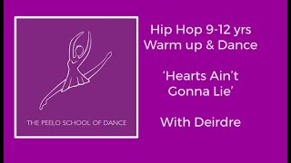 Hip hop dance 9-12 yrs 'Hearts Ain't Gonna Lie' with Deirdre