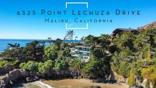 Taste of Carmel in this Malibu Beach House – Broad Beach Dream Home 6525 Point Lechuza Dr Malibu, CA