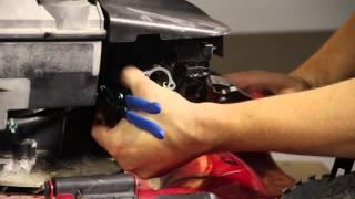 Removing the Carburetor of a Lawnmower : Lawnmower Maintenance & Repair