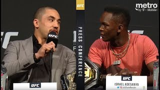 UFC Summer Press Conference Highlights