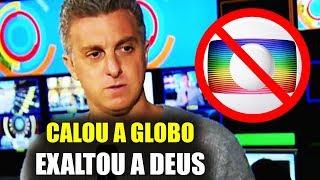Incrível! Luciano Huck Cala A Rede Globo E Exalta A DEUS Na TV