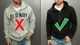 How To ROCK A Hoodie!  (5 Stylish Ways To Wear A Hoodie)