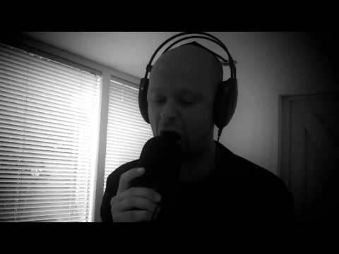 """Synesis Absorption - Robbe K recording vocals for the song """"Disgrace of Redemption"""""""