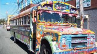 60's Hippie Bus