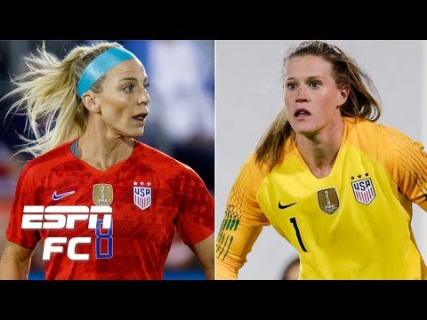 USWNT's Julie Ertz and Alyssa Naeher embracing new World Cup roles | FIFA Women's World Cup