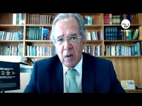 Guedes fala de reforma Tributária em Comissão Mista - 05/08/2020