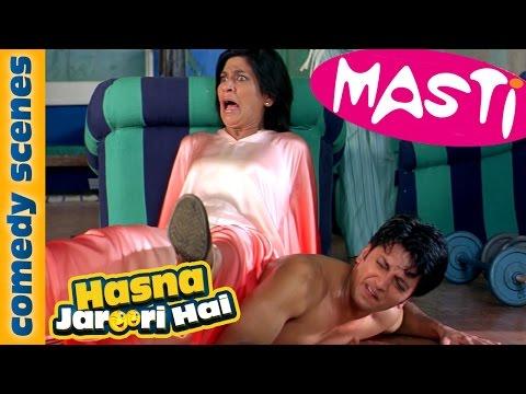 Hasna Zaroori Hai - Featuring Riteish Deshmukh - Masti Comedy Scene (видео)