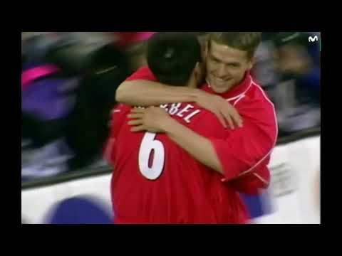 LIVERPOOL-ALAVES FINALE COUPE UEFA 2000-2001 VF FRANCE 2