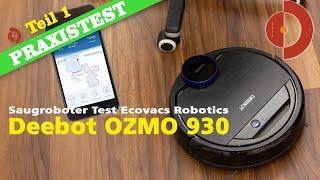 Ecovacs Robotics Deebot OZMO 930 Test - Bedienung & App