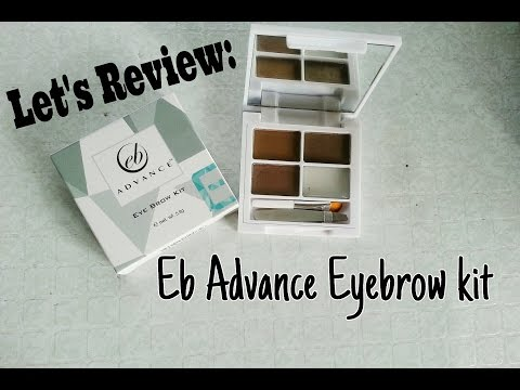 LET'S REVIEW: EB ADVANCE EYEBROW KIT | Cherry Puno