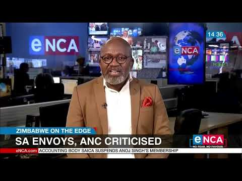South African envoys criticised over Zimbabwe crisis – Biti on eNCA