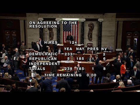 The House delivered a non-binding rebuke to President Donald Trump Thursday by voting to condemn his administration's move to restrict transgender men and women from military service. Transgender members of the military applauded the move. (March 28)