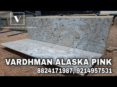 Alaska Pink White Granite