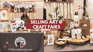 What Its Like To Prep For A Craft Fair ⭐️vlog | My First Time As A Vendor!