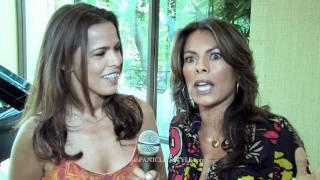 Actresses Rosa Blasi and Lisa Vidal -  Part I