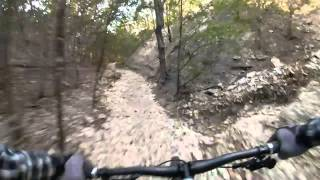 Brushy Creek SingleTrack - Deception - The Rim and Dave's Ditch (includes some closed stuff) - respect the closure signs and ride only the authorized trail.