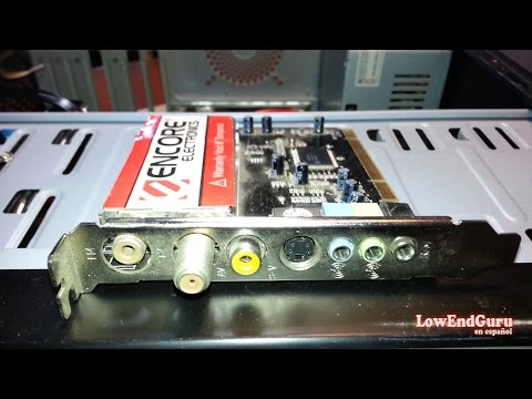 Como instalar una placa sintonizadora de TV - FM