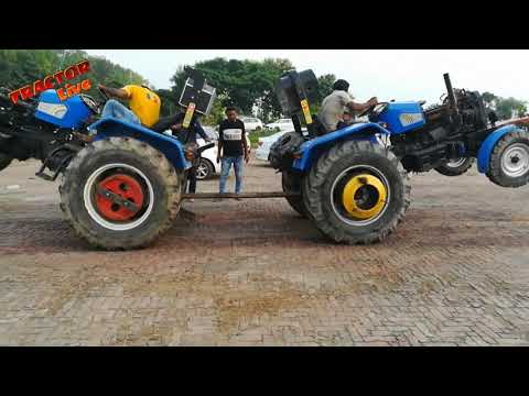 Sonalika tractor and HMT 5911 tractor Tochan Mukabla.