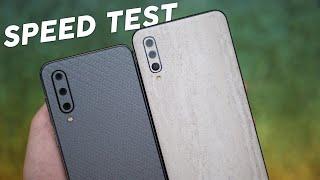 Test de velocidad | Mi 9 SE vs Galaxy A50