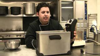 How to choose the right deep fryer and what oil to use. With Chef Cristian Feher