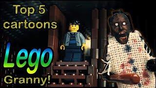 TOP 5 LEGO Stop Motion Granny / ТОП 5 ЛЕГО мультиков  Гренни! / Horror game Granny