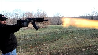 Quick Shots  Mini Draco AK47 Pistol With CAI SB47 Brace