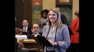 Rep. Donna Lasinski Passes International Women's Day