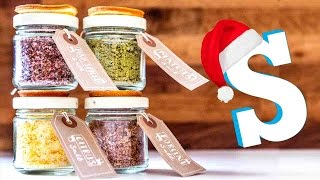 Flavoured Salts Recipe: DIY Christmas Food Gifts