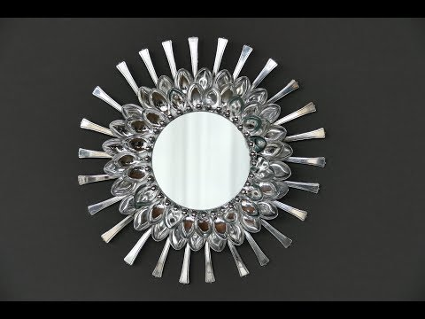 DIY Wohndeko basteln – Spiegel basteln – Wand- und Tischdeko basteln
