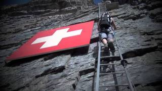 via ferrata extreme-Leukerbad-Gemmi-Daubenhorn-Loeche les Bains-Kleittersteige