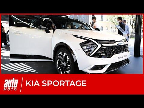Nouveau Kia Sportage : premières impressions et infos au salon de Munich