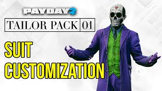 [Payday 2] All Suit Customization