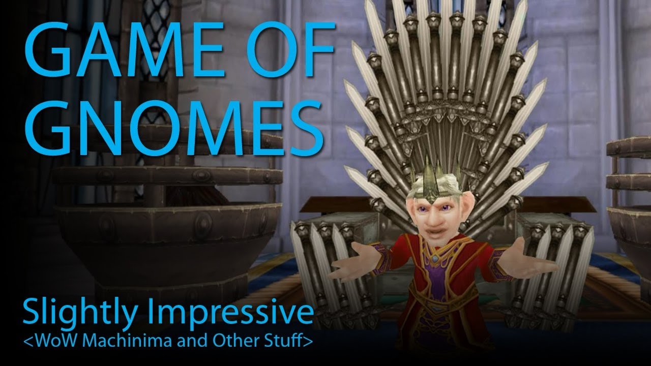 Winter Is Coming Shortly In Game Of Gnomes