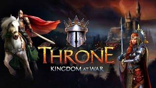 Throne Kingdom at War игра новинка от команды производителей  игр онлайн Plarium.com