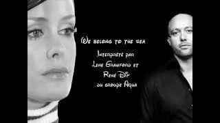 We Belong to the Sea - Paroles
