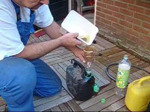 Der Ersatz des Öles auf santa fe das Benzin
