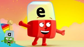 Alphablocks - E is for Exploring! | Learn to Read | Phonics for Kids | Learning Blocks