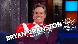Bryan Cranston Is The Red Power Ranger
