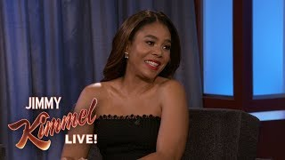 Regina Hall Got Way Too High with Her Mom