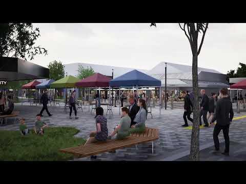 Maude Street Mall - Design Option 2