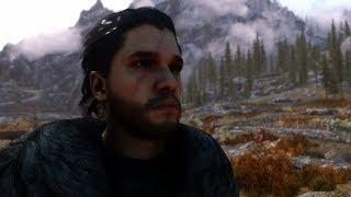 Jon Snow In The World Of Skyrim