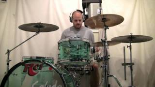 """DJ Shadow drum cover """"building steam with a grain of salt."""""""