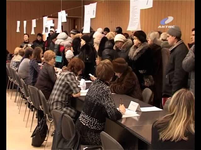 В Центре занятости прошла первая в новом году Ярмарка вакансий