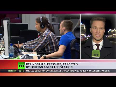 Under pressure: Washington targets RT with foreign agent legislation
