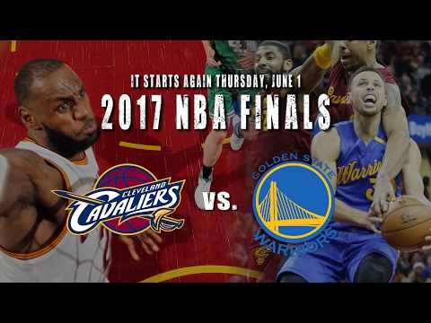 Hype video: Cavs vs. Warriors in the 2017 NBA Finals