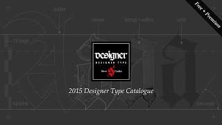 Designer Type - FREE + Premium Typography