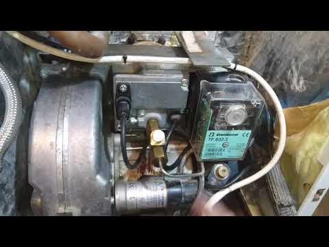 Sustitución de caja de control Bentone Satronic 832.3 por 801